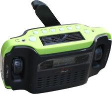 infactory Kurbelradio, Solarradio, LED Taschenlampe, Radio, SOL 1510 *neu*