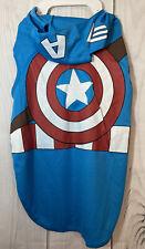 Marvel Avengers Pet Apparel NWT Captain America Dog Halloween Costume Size XL