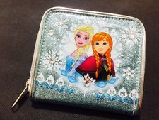 Licensed Disney FROZEN Princess Elsa&Anna Wallet Card Coin Purse Girl School New