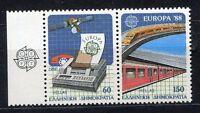 s2423A) Greece 1988 MNH New Europa, Transport And Communication 2v