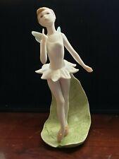 "Cybis Porcelain Fairy Tinkerbell Figurine 7""h"