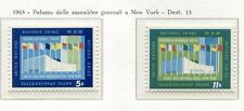 19053) UNITED NATIONS (New York) 1963 MNH** Nuovi** New Building of UNO
