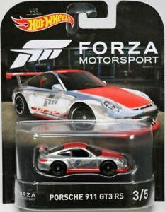 HOT WHEELS FORZA MOTORSPORTS PORSCHE 911 GT3 RS ZAMAC Real Riders