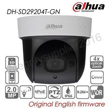 Dahua SD29204T-GN 2MP 4x Optical Zoom PTZ IP Dome Camera PoE WDR P2P IR SD slot