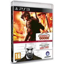 Rainbow Six Vegas & Splinter Cell Double Agent Game PS3