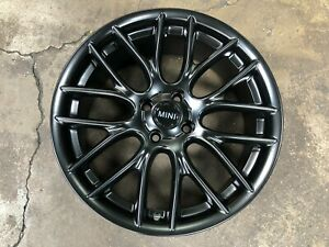 New 17 inch MINI Cooper JCW design 4x100 BLACK Wheel (set of 4) R52 R53 R55 R56