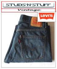 "Vintage Levis 505'S Regular Fit Jeans W29"" L29"" aprox Taille UK 8/10 (T621)"
