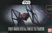 BANDAI STAR WARS MODELE KIT first order special forces tie fighter MAQUETTE 1/72