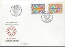 1977 FDC Portugal Dia De Camoes E Das  Comunidades