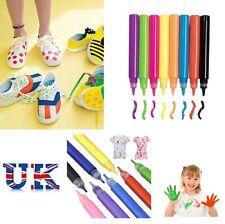 10 fabric paints pens pen T-Shirt material craft paint art kids paint pencils