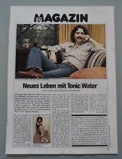 ALICE COOPER  - Clipping/Bericht aus dem Jahr 1979 - Musikzeitschrift
