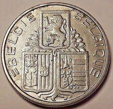 ==>> 5 Francs 1938 Couronne Belgique 5 Frank Belgïe 1938 FL/FR Kroon <<==