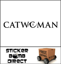 Catwoman Decal Cat Woman Sticker DC Comics JDM Girl Jeep Car Accessory