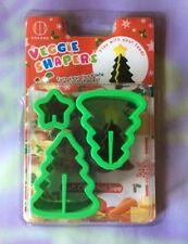 "Kokubo Veggie Shaper ""Christmas Tree"" Cute Garnishes Bento Sushi Clay Crafts NIP"