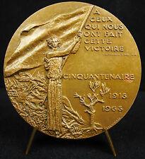 Médaille Cit Clemenceau victoire 1918-1968 Cessez le feu! 2nd World war  Medal