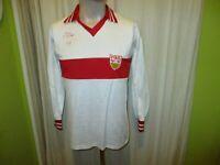 "VfB Stuttgart erima Heim Langarm Trikot 1978/79 ""ohne Hauptsponsor"" Gr.M TOP"