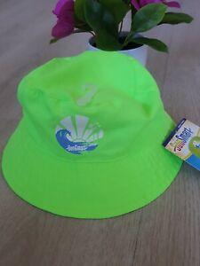 SUN SMART - AQUA LEISURE - CHILD YOUTH BUCKET HAT light green 50 UPF