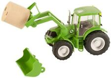 Kids Farm Tractor Toy Pretend Play Boy Girl Gift Cowboy Cowgirl 1:20 Scale New