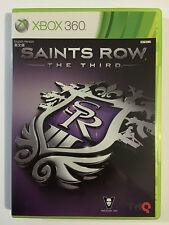 Saints Row The third Xbox 360 Game