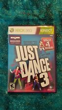 XBOX 360 Kinect Just Dance 3 game only