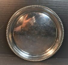 Cartier Sterling Vintage Round Tray