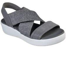 Skechers Cali Gray City Escape Light Yoga Sandals Womens Shoe, No box