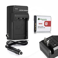 Type G Battery+Charger For SONY Cybershot DSC NP-BG1 DSC-H10 H20 H50 H55 H70 H9