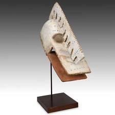 Waka Kakada Crocodile Mask Carved Wood Dogon People Mali West Africa 20Th C.