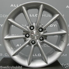 "ASTON MARTIN DB7 VANTAGE 10 SPOKE 18""INCH SILVER SINGLE REAR ALLOY WHEEL X1, 9J"