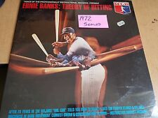 """1972 SEALED Ernie Banks """"Theory Of Hitting"""" vinyl LP record album CHICAGO CUBS"""