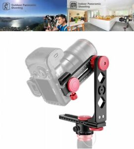 """Neewer Gimbal Head Panoramic Head with 1/4"""" Quick Release Plate Carry Bag Japan"""