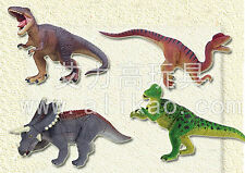 4 kinds 4D Animal Puzzle Toy Assembly Dinosaur Dragon Egg #B-77