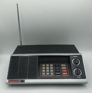 Bearcat 210XL BC210-1 Scanner Radio Police / Fire / Ham / Weather Vintage