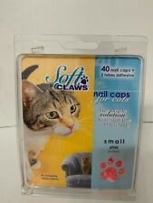 New listing New 40 Soft Claw 00004000 s Nail Caps for Cats Clear Small Pink 6-8 lbs cats