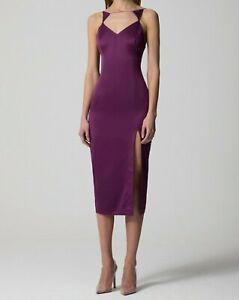 AQ/AQ Laine Slip Midi Dress - Size UK10 , BNWT