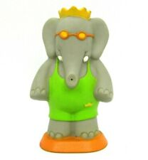 "Babar World Tour King Babar Water Squirter 3.75"" Tall Arby's Vinyl Figure"