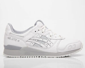 Asics Gel-Lyte III OG Men's White Low Casual Athletic Lifestyle Sneakers Shoes