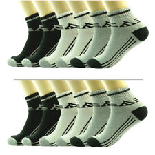 3-12 Pairs For Mens Ankle Quarter Crew AA Sports Socks Cotton Low Cut Size 9-13