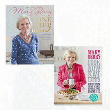 Mary Berry's One Step Ahead & Cook Now,Eat Later Collection 2 Books Set New Pack