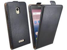 Klapptasche Schale Hülle Case Bag für Alcatel One Touch POP STAR (5022D) Schwarz