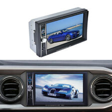 """7"""" Touch Screen Car Multimedia 2 DIN Bluetooth TV FM Radio Stereo MP5 MP3 Player"""