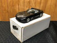AMT Ertl 1993 Dodge Viper RT/10 Black #6128YO Dealer Promo Car Look Boxed Car