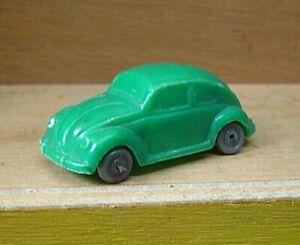 """Wiking 1:87 VW Käfer grün Drahtachser unverglast """"Gebraucht""""(019K)"""
