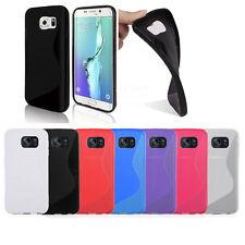 Línea S de Silicona Gel Estuche Cubierta para diversos teléfonos móviles Samsung Galaxy + SP