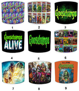 Goosebumps Lampshades, Ideal To Match Goosebumps Bedding Sets & Duvet Covers