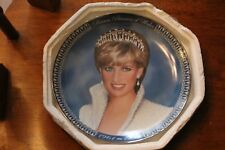 A Tribute to Princess Diana Collector Plate By Franklin Mint