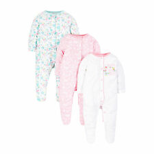 Floral mothercare Girls' Babygrows & Playsuits (0-24 Months)