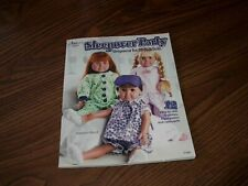 """""""Sleepover Party"""" Book Sleepwear For 18"""" Dolls 12 Easy-To-Sew Patterns 2014 New"""