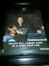 Mark Knopfler Philips DCC Rare Original Promo Poster Ad Framed!