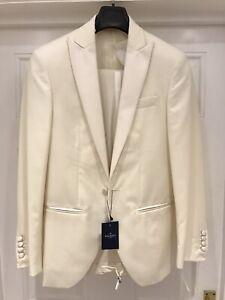 Hackett Tuxedo Ivory RRP £1025 BNWT